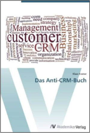 Cover &quot;Das Anti-CRM-Buch&quot;