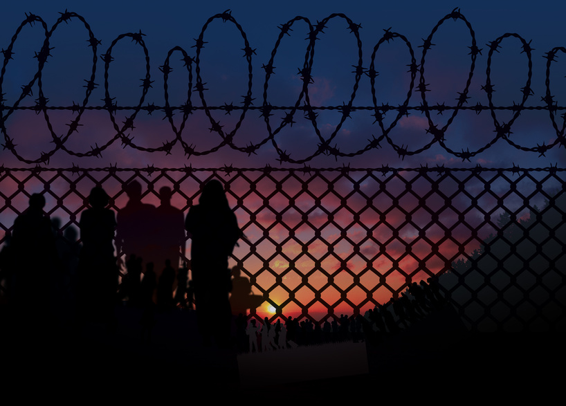 Grenzsicherung Flüchtlingskrise