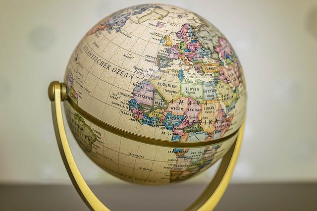 Erde Globus